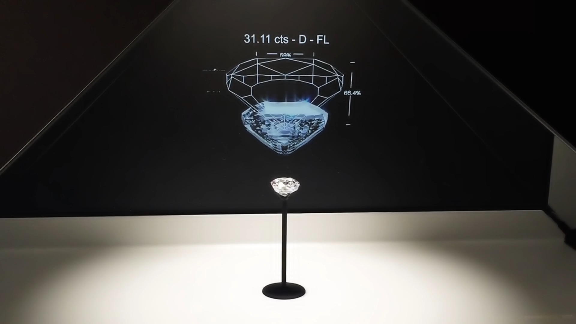 3d hologram for jewellery and luxury goods
