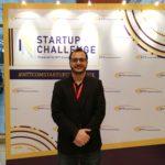 Homam Alghorani founder of Wonderland Technologies Sdn Bhd at NTT startup challenge final round