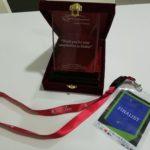 NTT startup challenge finalist award to Wonderland Technologies Sdn Bhd